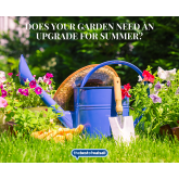Does your garden need an upgrade for summer?
