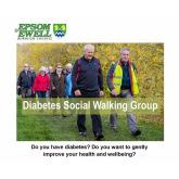 Sign up for diabetes social walks in Epsom and Ewell – weekly walk @EpsomEwellBC