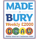 Sharing is caring with the Made in Bury Weekly £2000 Draw!