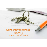 WHAT CAN YOU CHARGE TENANTS FOR AFTER 1ST JUNE - @PersonalAgentUK Lettings & Management team offer free advice for #Landlords #Epsom #Ewell #Banstead