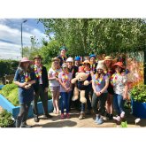 Headway garden in Shrewsbury given makeover