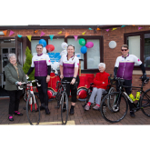 Crewe care home sends-off riders on gruelling 800-mile charity bike ride