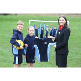MOSS HEY PUPILS SPORTING NEW KITS THANKS TO REDROW