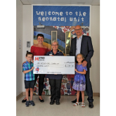 Local Firm Donates to Hospital in Celebration of 10th Anniversary