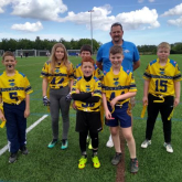 HoundDogs Flag team impress.