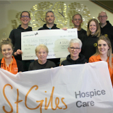 Runners of all ages limber up for Family Friendly races in aid of St Giles Hospice