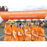FUNDRAISING FAIRIES MAKE SOLSTICE WALK A NIGHT TO REMEMBER FOR ST GILES HOSPICE