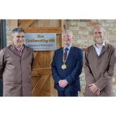 Milton Keynes Mayor Opens The Goldsmithy's New Workshop in Cranfield