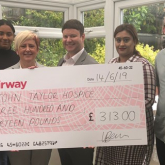 Apprentices raise vital hospice funds
