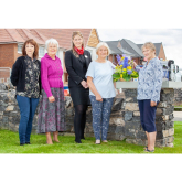 FLOWER CLUB SAYS 'THANKS A BUNCH' TO REDROW