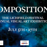 'Composition 2' Lichfield Festival's Visual Art Exhibition