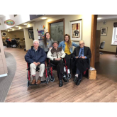 Leamington Spa Care Home Forms 'Gents on Tour' Sporting Squad