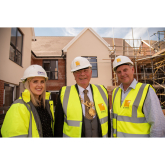 City Mayor Celebrates 'topping out' of £7million Chester Care Home
