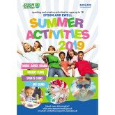 Summer Activities in #Epsom and #Ewell