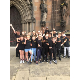 Support from local Performing Arts Group for Lichfield Festivals.