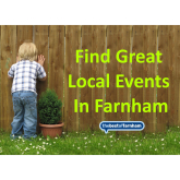 Your guide to things to do in Farnham – 19th July to 1st August