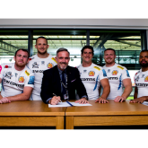 swcomms and Exeter Chiefs celebrate silver anniversary with new deal