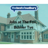 The Fox, Bulmer Tye are Recruiting Staff