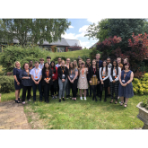 MEDICS OF THE FUTURE GET HEAD START AT ST GILES HOSPICE SUMMER SCHOOL