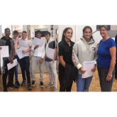 Blenheim High School #Epsom students celebrate excellent A level and BTEC results @ BlenheimEpsom