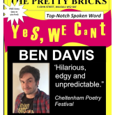 Renowned poetry night Yes We Cant returns to the Pretty Bricks in Walsall on September 1st after its summer break.