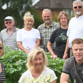 Town secures gold status at 'in bloom' competition