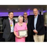 Epsom Medical Equipment Fund volunteers receive Long service Awards from Epsom & St. Helier University Hospitals Trust @Epsom_StHelier