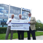 Fluor Golf Day Helps Local Hospice Care
