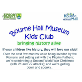 Upcoming Events at Bourne Hall Museum Kids Club