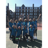 Epsom & Ewell Walking Netball Team pivot their way to Victory!