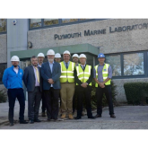 CONSTRUCTION TEAM HAND-OVER NEWLY REFURBISHED SCIENTIFIC RESEARCH CENTRE
