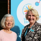 Volunteer group join forces with hospice