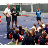 Budgen Motors tennis day for local schools proves a hit with youngsters at The Shrewsbury Club