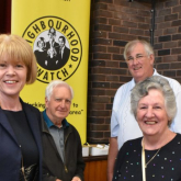 """Increasing Police Numbers is Key Priority"" says Wendy Morton MP at North Aldridge Neighbourhood Watch"