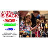 UlverSTEM is back! Discover, Challenge, Learn.