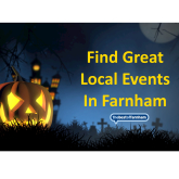 Your guide to things to do in Farnham – 25th October to 7th November