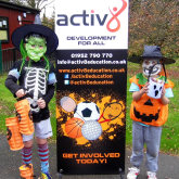 Half term Halloween sports and arts & crafts fun
