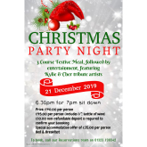 Christmas Party NIght Eastbourne Cumberland Hotel