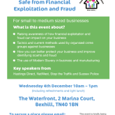 Are you concerned about keeping your business safe from financial exploitation and fraud?