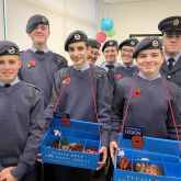 Aldridge Air Cadets support Royal British Legion for Poppy Appeal