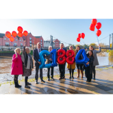 INDEPENDENT ESTATE AGENTS 'REACH FOR THE SKY' IN AID OF BALLOONS CHARITY!