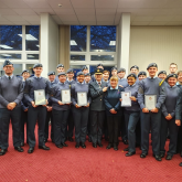 Aldridge Air Cadets Are Victorious In The National Band Championships