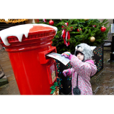 Shrewsbury shoppers get direct link to Father Christmas