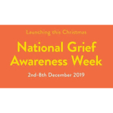 National Grief Awareness Week begins on Monday 2nd December next and will continue to the 8th December.