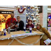 Christmas All Wrapped Up at The Ashley Centre #Epsom with The Sunnybank Trust @Ashley_Centre @SunnybankEpsom