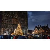 HUNDREDS REMEMBER THEIR LOVED ONES AT LICHFIELD CATHEDRAL LIGHT UP A LIFE SERVICE