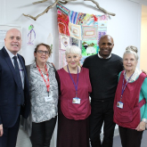 Watford Legend becomes Patron of Peace Hospice Care