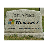 Goodbye Microsoft Windows 7