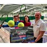 Tickets now on sale for Shrewsbury's festival of tennis