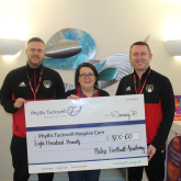 Singing Footballers Raise Cash For Phyllis Tuckwell Hospice